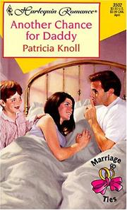 Cover of: Another Chance For Daddy (Marriage Ties)