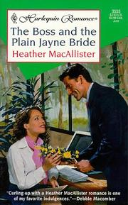 Cover of: Boss And The Plain Jayne Bride
