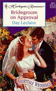 Cover of: Bridegroom On Approval (Fairytale Weddings)