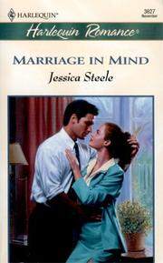 Cover of: Marriage In Mind (The Marriage Pledge) (Romance, 3627 : the Marriage Pledge) | Steele