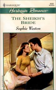 Cover of: Sheikh'S Bride | Sophie Weston
