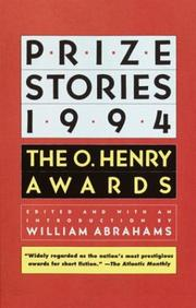 Cover of: Prize Stories 1994