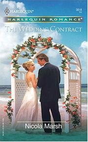 Cover of: The Wedding Contract | Nicola Marsh