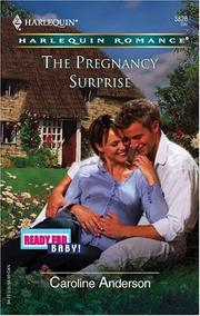Cover of: The Pregnancy Surprise | Caroline Anderson