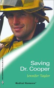 Cover of: Saving Dr. Cooper | Jennifer Taylor
