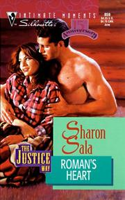 Cover of: Roman'S Heart (The Justice Way) (Intimate Moments , No 859)