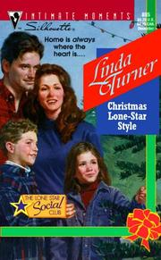 Cover of: Christmas Lone Star Style  (The Lone Star Social Club) | Linda Turner