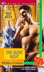 Cover of: One Silent Night  (Men In Blue)