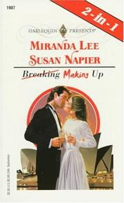 Cover of: Making Up (Harlequin Presents, No. 1907)(2-in -1: Something Borrowed, by Miranda Lee, Vendetta, by Susan Napier) | Susan Napier Mirand Lee
