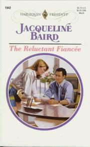Cover of: Reluctant Fiancee | Jacqueline Baird