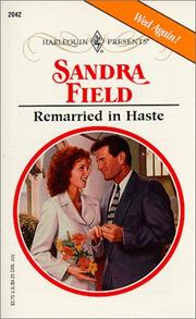 Remarried In Haste