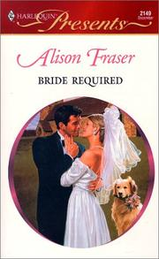 Cover of: Bride Required (Wedlocked)