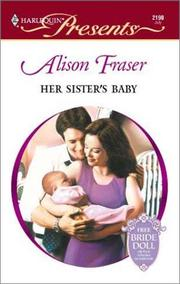 Cover of: Her Sister's Baby | Fraser