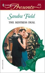 Cover of: Mistress Deal (Xmas) | Sandra Field