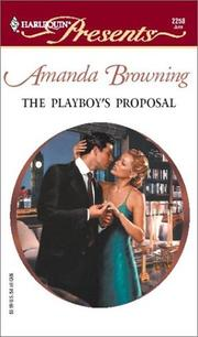 Cover of: The Playboy's Proposal