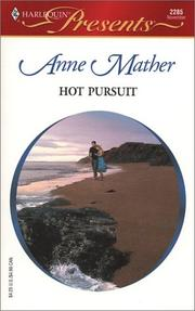 Cover of: Hot Pursuit | Anne Mather
