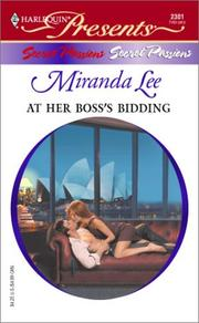 At Her Boss's Bidding  (Secret Passions)