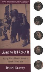 Cover of: Living to Tell About It | Darrell Dawsey
