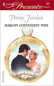 Cover of: Marco's convenient wife