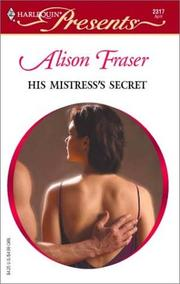 Cover of: His mistress's secret