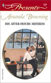 Cover of: His After Hours Mistress  (In Love With Her Boss)