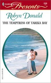 Cover of: The Temptress Of Tarika Bay  (Foreign Affairs) | Robyn Donald