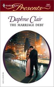Cover of: The marriage debt