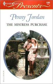 Cover of: The mistress purchase