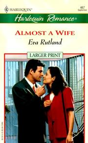 Cover of: Almost A Wife