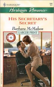 Cover of: His Secretary's Secret (9 to 5) | Barbara McMahon