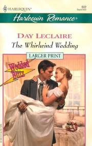 Cover of: The Whirlwing Wedding  (Wedded Blitz)