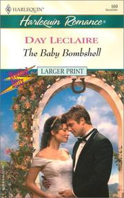 Cover of: The Baby Bombshell  (Wedded Bliss)