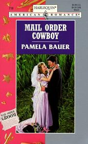 Cover of: Mail Order Cowboy