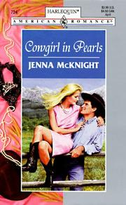 Cover of: Cowygirl in Pearls (Harlquin American Romance, No. 724)