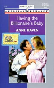 Cover of: Having the Billionaire's Baby (With Child...)