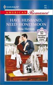 Cover of: Have Husband, Need Honeymoon (Hartwell Hope Chests)