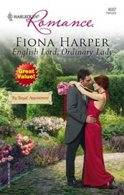 Cover of: English Lord, Ordinary Lady (Harlequin Romance) | Fiona Harper