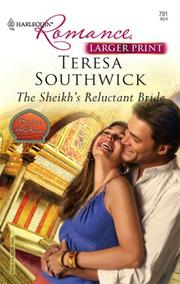 Cover of: The Sheikh's Reluctant Bride (Harlequine Romance: Brothers of Bha Khar)