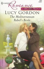 Cover of: The Mediterranean Rebel's Bride