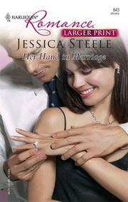 Her Hand In Marriage (Harlequin Romance)