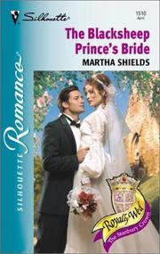 Cover of: Blacksheep Prince's Bride (Royally Wed)