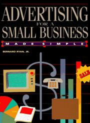 Cover of: Advertising for a Small Business Made Simple | Bernard Ryan Jr.