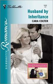 Cover of: Husband By Inheritance (The Wedding Legacy) | Cara Colter