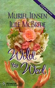 Cover of: Wild To Wed | Jensen & Mcbride