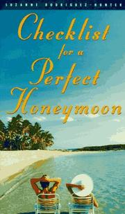 Cover of: Checklist for a Perfect Honeymoon