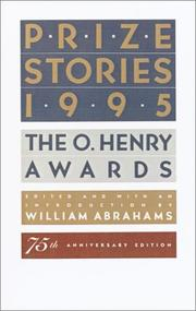 Cover of: Prize Stories 1995