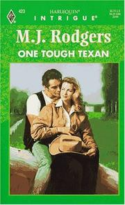 Cover of: One Tough Texan | M. J. Rodgers