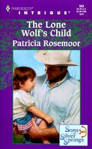 Lone Wolf'S Child (Sons Of Silver Springs)