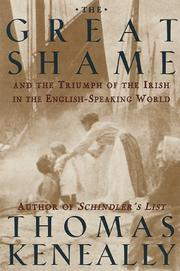 The great shame by Thomas Keneally, Thomas Keneally