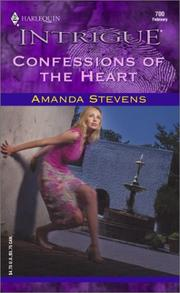 Cover of: Confessions of the Heart | Amanda Stevens